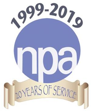 NPA 20th logo