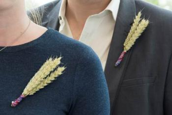Wheat badge