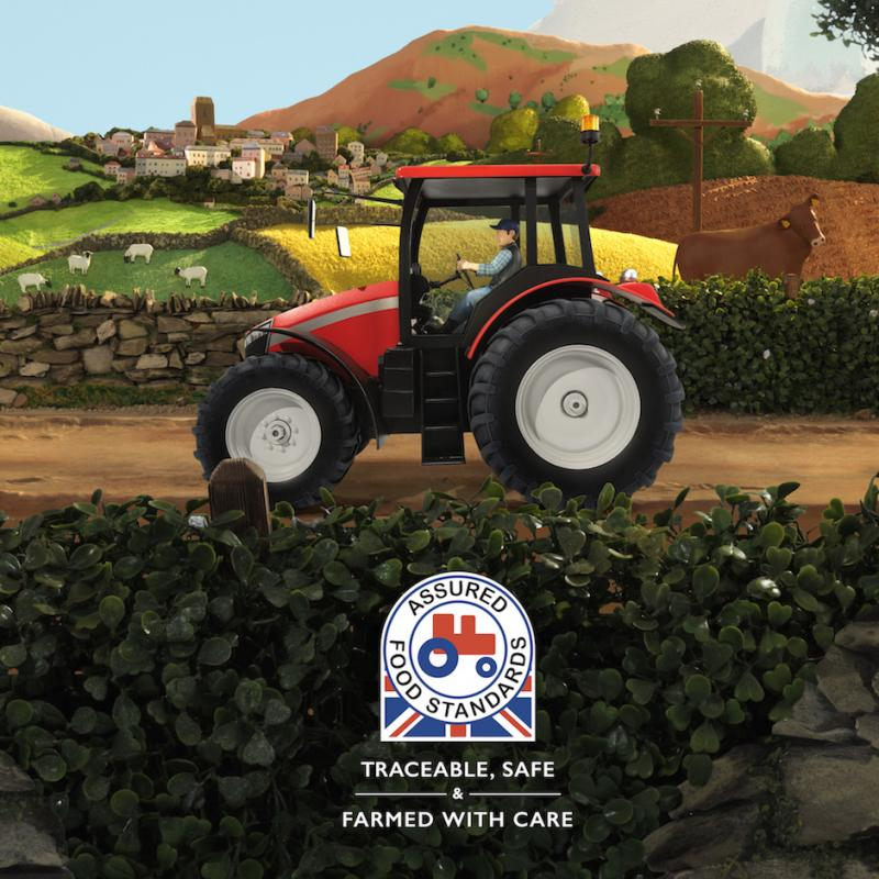 Red Tractor ad image
