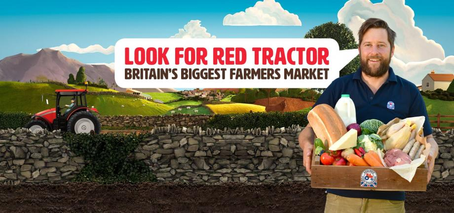 Red Tractor market